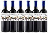LAS NIÑAS Ecológico - Vino Tinto Orgánico Tempranillo & Syrah - Vino de la Tierra de Castilla- 6 botellas x 750 ml