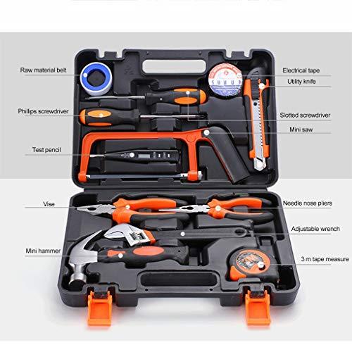 GJX Werkzeugkoffer Werkzeug-Set 9 Stück...