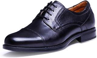 Kirabon Zapatos de Hombre Zapatos de Hombre de Negocios para Hombres Zapatos de Marea para Hombres Zapatos de Marea para Hombres Zapatos de Vestir para Hombres (Color : Negro, Size : 39)