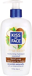 Kiss My Face Hand Soap Coconut 9oz Pump (6 Pack)