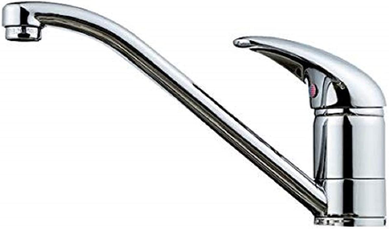 Small Single Lever Chrome Kitchen Sink Mixer Tap (Aero 9 ch)