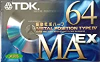 TDK メタルテープ MAEX 64分 振動低減ハーフ MAEX-64