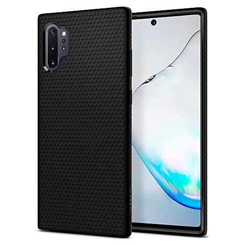 Spigen Funda Liquid Air Compatible Samsung Galaxy Note 10 Plus - Negro Mate