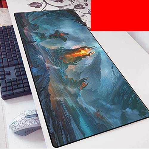 Gaming Grande Gran juego de ratón de ratón DOTA2 Mationera extendida alfombrilla de alfombrilla de teclado Mousepad para la oficina de oficina en casa ORDENADOR PERSONAL Escritorio alfombrilla de rató