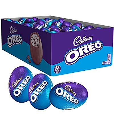 cadbury oreo chocolate easter egg, 31 g, pack of 48 cadbury Oreo Chocolate Easter Egg, 31 g, Pack of 48 51cpREZeF3L