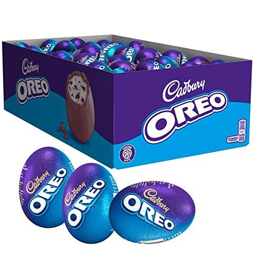 Cadbury Oreo Schokoladen-Osterei, 31 g, Packung mit 48 Stück