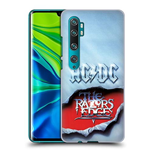 Officiële AC/DC ACDC De Rand van de scheermessen Album Kunst Hard Back Case Compatibel voor Mi CC9 Pro/Mi Note 10 / Pro
