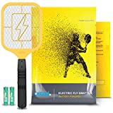 Ostad Electric Fly Swatter Racket – Bug Zapper Racquet – Handheld Bug, Insects, Fly & Mosquito Zapper Racket Killer...