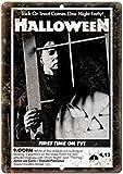 KODY HYDE Metall Poster - Halloween Movie - Vintage
