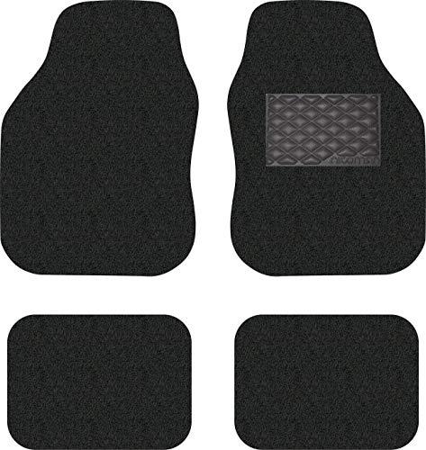 Nicoman Universal Car Mats Non-Slip PVC Rubber Heavy Duty Easy Clean Floor...