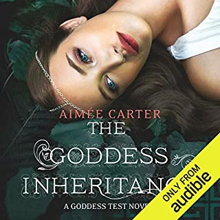 The Goddess Inheritance audiobook cover art