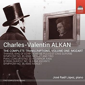 Alkan: The Complete Transcriptions, Vol. 1, Mozart