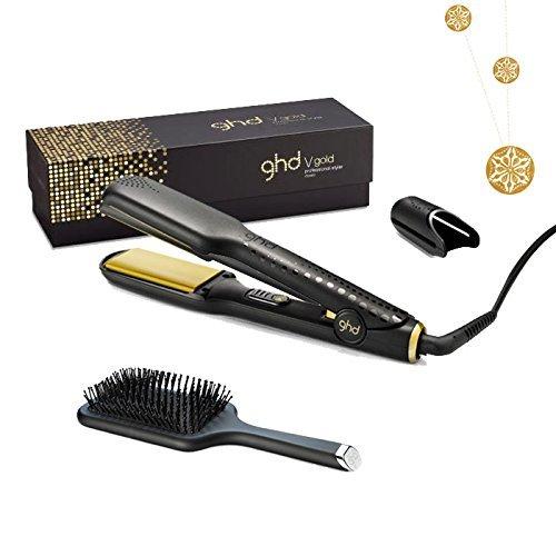 Ghd Gold Classic Gl?tteisen Mit Flachbürste Und Vergoldeter Halskette Von L'Oréal