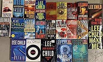 Jack Reacher Series Complete Set  BOOKS 1-18    1 Killing Floor 2 Die Trying 3 Tripwire 4 Running Blind 5 Echo Burning 6 Without Fail 7 Persuader 8 The Enemy 9 One Shot 10 The Hard Way 11 Bad Luck and Trouble 12 Nothing to Lose ...
