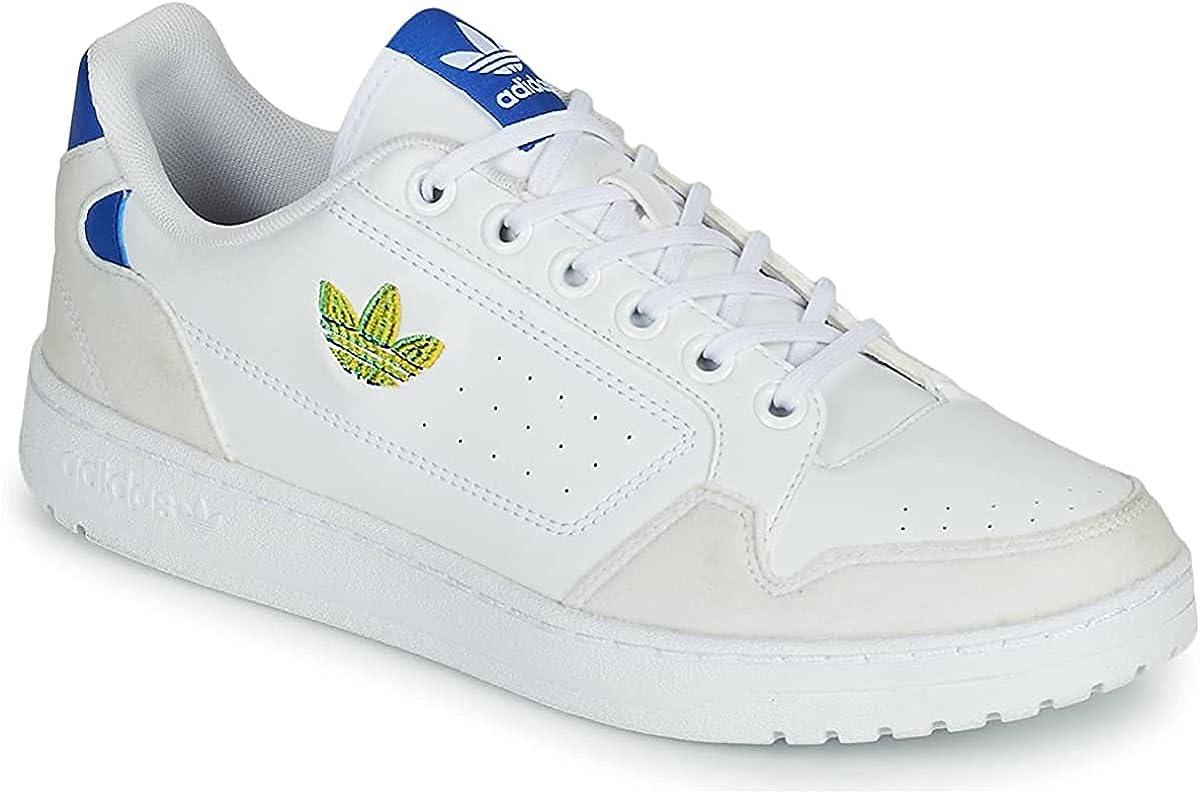 adidas NY 90, Zapatillas Deportivas Hombre, FTWR White Screaming Green Team Royal Blue, 40 EU