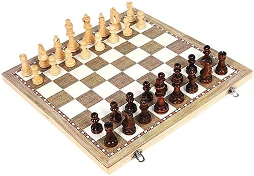GXBCS Chess Set with Board Max 44% OFF Wooden of 55% OFF for Kids All Ages