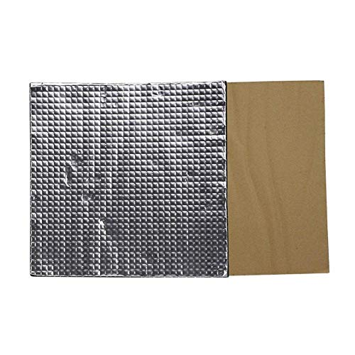 YBINGA Accessories 300x300x10mm 3pcs Foil Self-adhesive Heat Insulation Cotton for 3D Printer Heated Bed 3D Printer Hand Tool
