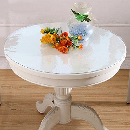 Nappes rondes en PVC de cuisine nappes imperméables à l'eau ( taille : 60*60cm )