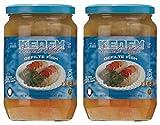 Kedem Gluten Free Israeli Style Gefilte Fish 24oz (2 Pack) No MSG, No Egg Yolk, No Matzo Meal, Nothing Artificial