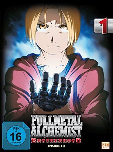 Fullmetal Alchemist: Brotherhood - Vol. 1 (Digipack im Schuber mit Hochprägung und Glanzfolie) [2 DVDs] [Limited Edtion] [Limited Edition]