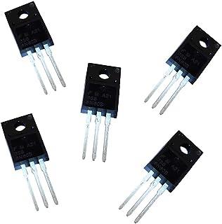 Multi-Functional Npn Transistor 100Pcs Npn Transistor For To-92 2N2222A 2N2222 Exquisite Npn Transistor Black