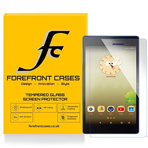 Forefront Hülles [HD KLARHEIT] Gehärtetes Glas Display Schutz Protektor Folie für Lenovo TAB3 7 Essential 17,78 cm (7 Zoll IPS) Tablet [DÜNN nur 0.3mm]