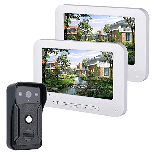 Fantastic Deal! MAOTEWANG 7 Inch Video Door Phone Doorbell Intercom Kit 1-Camera 1-Monitor Night Vis...