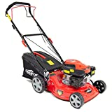 "Fox Frisky 17"" (43cm) Petrol Lawn Mower 127cc Self Propelled 4-Stroke Recoil +"