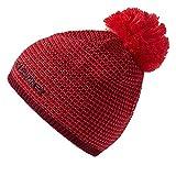 Ziener Erwachsene IMIT hat Bommel-Mütze, red, One size