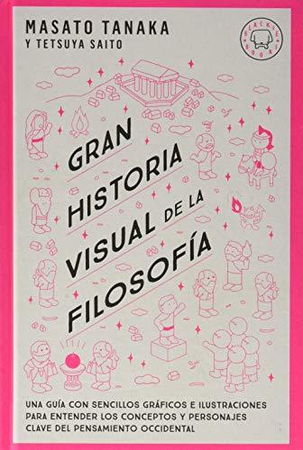 Gran historia visual de la filosofía: Una guía con sencillos gráficos e ilustraciones para entender los conceptos y personajes clave del pensamiento occidental.