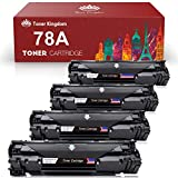 Toner Kingdom Compatible Toner Cartridge Replacement for HP 78A CE278A Toner Use for HP LaserJet Pro M1536dnf Pro P1606dn P1560 P1566 P1600 P1606 - Black, 4 Pack