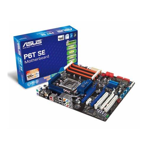 Asus P6T SE Mainboard Sockel 1366 (ATX, Intel X58, Triple Channel DDR3 Speicher)