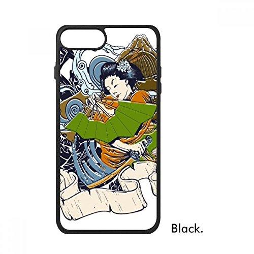 Bestchong Japan Kimono Vrouw Samurai Zwaard Voor iPhone SE 2 nieuw voor Apple 78 Case Cover