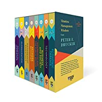 Peter F. Drucker Boxed Set (8 Books) (The Drucker Library) Front Cover
