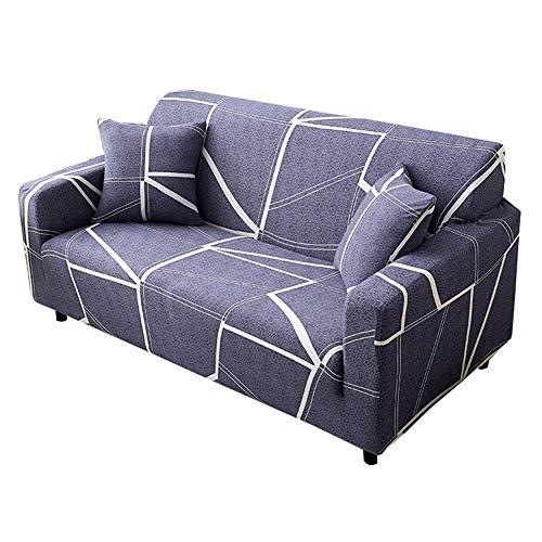 Shaoyao Sofa Überwürfe Sofabezug 1/2/3/4-Sitz-Überwurf Stretch Elastische Couchbezug Sofahusse Schutzüberzug Abdeckung Pillow Cover X 1 20 2 Sitzer(145-185Cm/57-72)