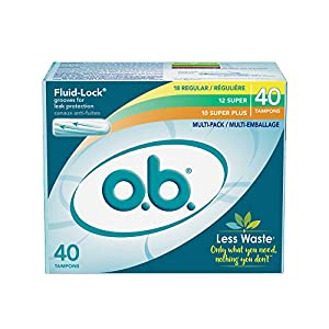 o.b. Original Non-Applicator Tampons