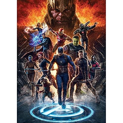 Puzzle 1000 teile Film Captain Avengers...
