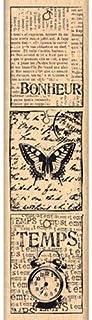 Florilèges Design FF213014 Tampon Scrapbooking Petites Étiquettes Vintage, Beige