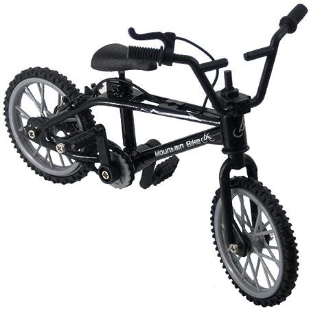 Druckguss-Spielzeug Miniatur-Finger-Mountainbike-Modell Kunst-Dekorationskollektion f/ür Kinder und Jungen Retro-Rennfahrrad-Modell Metall-Skulptur Mini-Fahrrad-Modell