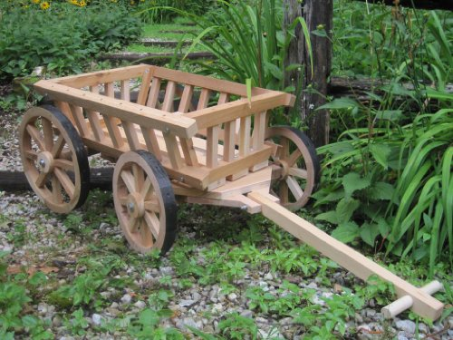 Lowest Prices! Mini Wedding Wagons Medium Flower Girl Pumpkin Wagon44; Unfinished