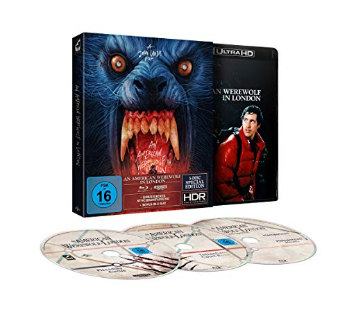 An American Werewolf in London - 3-Disc-Limited Special Edition (+ Blu-ray 2D + Bonus-Blu-ray)