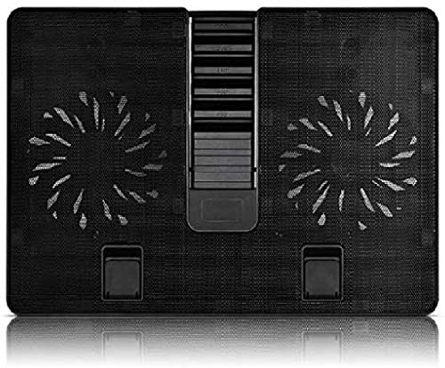 laptop fan cooling pad Laptop Cooling Pads Laptop Cooling Pad 2 X140mm Fans Up To 17.3 Inch Heavy Notebook Cooler Built-in One USB3.0 Interface Adjustable Laptop Stand notebook cooler pad