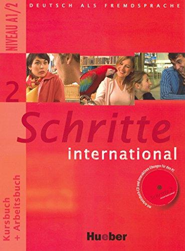 Schritte international 2: Deutsch als Fremdsprache / Kursbuch + Arbeitsbuch mit Audio-CD zum Arbeitsbuch und interaktiven Übungen
