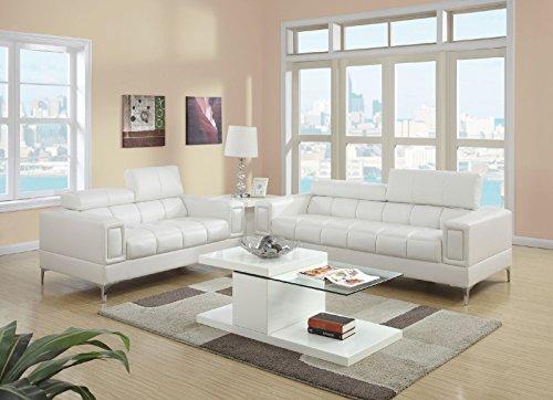 Major-Q Bonded Leather 2-Pcs Sofa Set 1