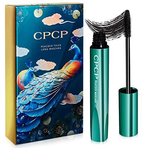 NICEMOVIC 4D Silk Fiber Eyelash Mascara, Naturale...