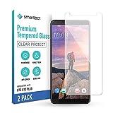 smartect Schutzglas kompatibel mit HTC U12 Plus [2 Stück] - Tempered Glass mit 9H Festigkeit - Blasenfreie Schutzfolie - Anti-Kratzer Bildschirmschutzfolie
