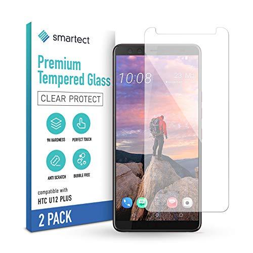 smartect Cristal Templado para Móvil HTC U12 Plus [2 Unidades] - Protector de...