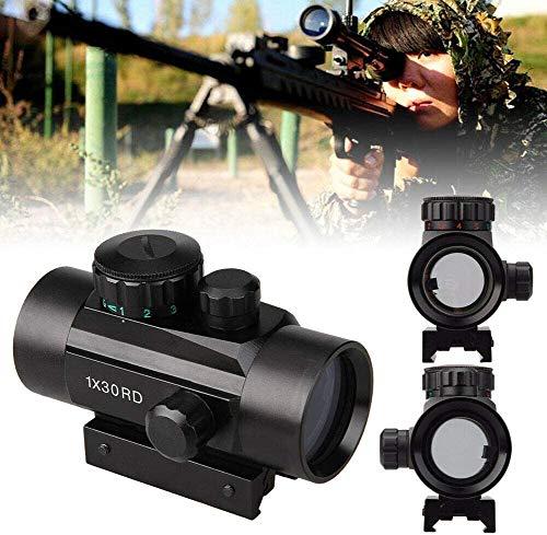 Froadp Zielfernrohr Rot & Grün Punkt Visier Luftgewehr Zielfernrohr Gewehr-Bereich mit Montage für Jagd und Sport(RD130, 22mm Montagen)