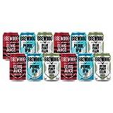 Brewdog British Craft Beer Mixed Case Gift Set (12 Cans)