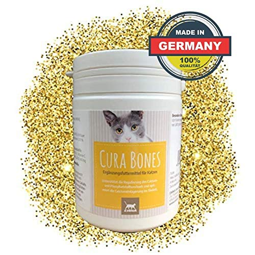 EMMA® Joint Powder Cat I MSM, Chondroïtine, Glucosamine I Vitamine C, K3, D + Calcium voor Katten I Kotsen Supplement I Dosis 150g
